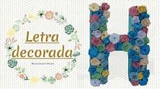 letras con flores letras decoradas con flores