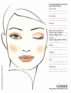 Brown Face Chart Blank Makeup Face Charts To Mugeek Vidalondon