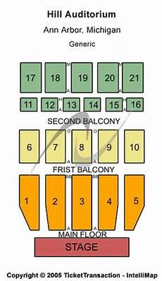 Seating Chart Hill Auditorium Arbor Joshua Bell Hill Auditorium Tickets Joshua Bell April 22