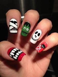 Cool Halloween Designs Nails Halloween Nail Art Design 18 Easyday