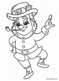 free printable leprechaun coloring pages for
