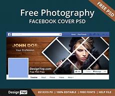 Design A Cover Photo For Facebook Timeline Free Photography Facebook Timeline Cover Psd Template