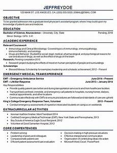 Medical School Resume Format Medical Student Resume Example Sample
