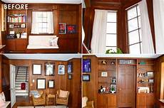 How To Paint A Light Color Over A Dark Color Should We Paint Wood Paneling Emily Henderson Bloglovin