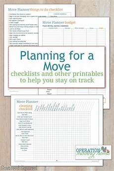 To Do Lists For Moving Planning For A Move Free Checklists And Other Printables