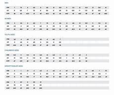 Reebok Swimsuit Size Chart Reebok Size Chart