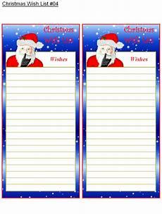 Christmas List Maker Printable Christmas Wish List 4