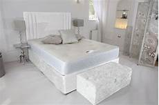 shop white crushed velvet divan bed in uk beds divans