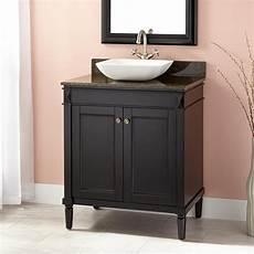 30 quot chapman vessel sink vanity espresso bathroom