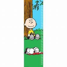 Peanuts Growth Chart Peanuts Snoopy Napping Canvas Growth Chart Walmart Com