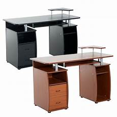 Homcom Writing Desk Computer Table Home Office Pc Laptop by Homcom Computer Desk Desktop Pc Table Home Office