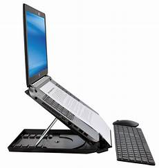 1503 portable notebook stand document holder desq
