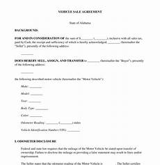 Bike Selling Agreement Format Vehicle Sale Agreement Template Word Amp Pdf