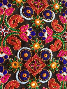 embroidery fabric 1 yard kutch embroidery fabric indian embroidered fabric