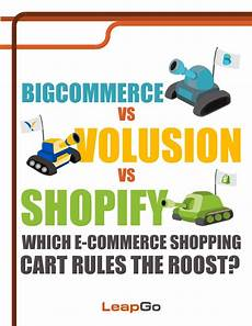 Volusion Vs Shopify Bigcommerce Vs Volusion Vs Shopify Review By Leapgo