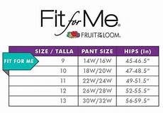 Fruit Of The Loom Size Chart Amazon Com Fruit Of The Loom Women S Plus Size Quot Fit For