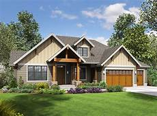 one story craftsman with finished lower level 69642am