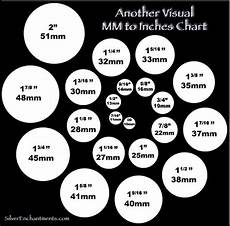 20mm Size Chart Visual Mm To Inches Chart Beading Jewelry Tutorials