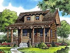 Log House Design Log Style Getaway 11546kn Architectural Designs