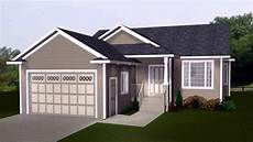 small l shaped house plans with garage see description