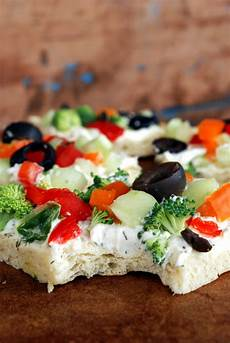 veggie pizza appetizer the merrythought