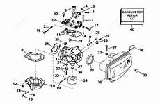 Johnson 1996 15 Bj15eleds Carburetor Parts Catalog