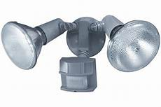 Motion Sensing Outdoor Light Bulbs Heath Zenith Sl 5411 Gr C 150 Degree Motion Sensing Twin