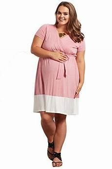 Pink Blush Maternity Size Chart Pinkblush Maternity Pink Colorblock Border Plus Size