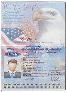 Us Passport Photo Template Usa Passport Psd Template High Quality Photoshop Template