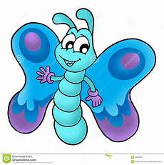 Cute Blue Images Cute Blue Butterfly Stock Illustration Illustration Of