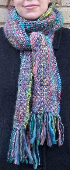 stricken kostenlos free knitting pattern scarves linen stitch scarf