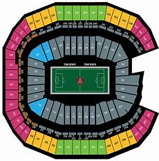 Seating Chart Mercedes Benz Atlanta United Mercedes Benz Stadium Virtual Seating Chart Atlanta United