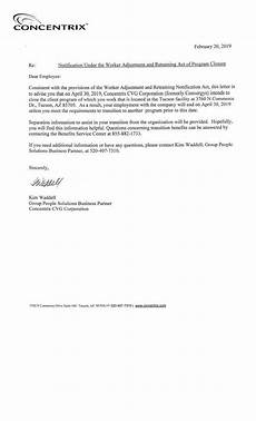 Layoff Letter Nearly 800 Employees Facing Layoffs At Tucson Call Center