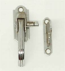 vintage chrome deco latch olde things