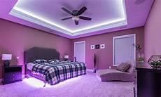 Bedroom Smart Lighting Ambient Lighting Utilize Led Lights To Set The Mood Of