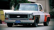 muscle truck rev on a 1974 chevrolet c10 hot rod