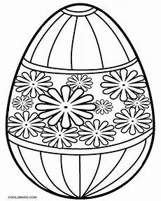 Coloring Eggs Printable Easter Egg Coloring Pages For