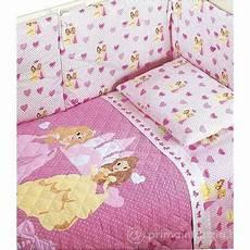 copriletto principesse copriletto con paracolpi principesse baby caleffi