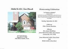 Church Homecoming Theme Ideas Douglass Riverview News And Current Events Bethel Ame