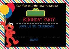 Free Digital Birthday Invitations How To Make A Sesame Street Digital Invitation Includes