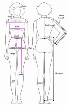 Body Size Chart Better Bodies Ladies Measurement Jpg Images Frompo