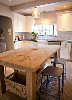 kitchen island farm table 37 best images about kitchen island on wheels on