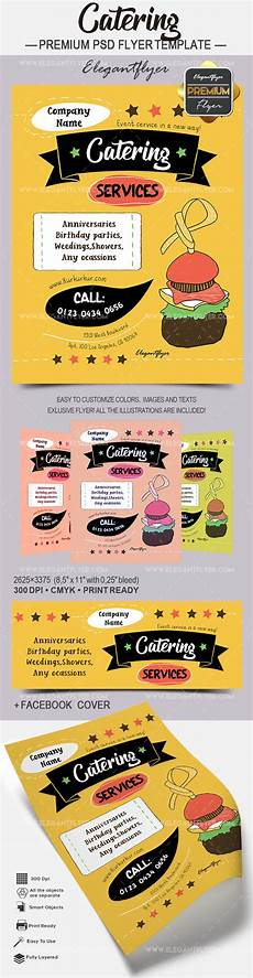 Catering Flyer Catering Premium Flyer Psd Template By Elegantflyer