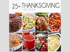 25  Thanksgiving Recipes   Easy Peasy Meals