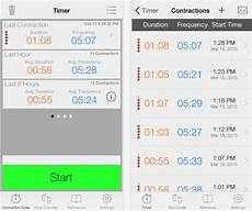 Contraction Timing Chart Best Contraction Timing Apps For Pregnancy Imedicalapps