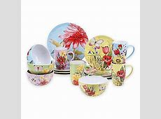 Certified International Floral Bouquet 16 Piece Dinnerware