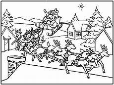 Ausmalbilder Weihnachtsmann Mit Schlitten Top 20 Ausmalbilder Weihnachtsmann Mit Rentierschlitten