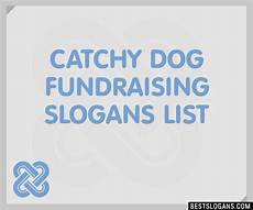 Catchy Fundraising Phrases 30 Catchy Dog Fundraising Slogans List Taglines Phrases
