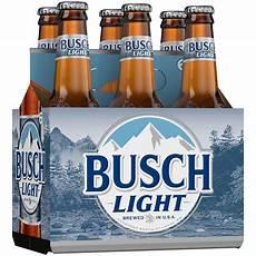 Busch Light Busch Light 174 6 Pack 12 Fl Oz Bottles Walmart Com