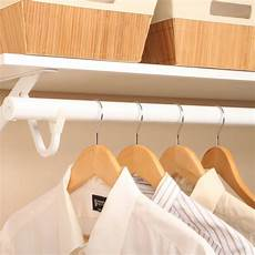 clothes rod for closet junaid extending clothes rod white in closet rods and brackets